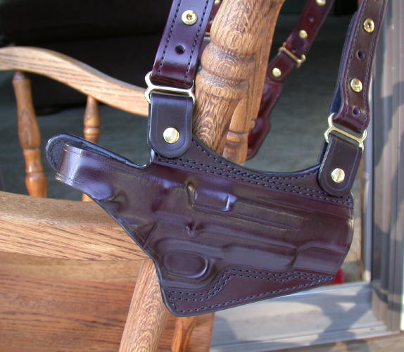 SR holster close up