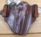 brown horsehide